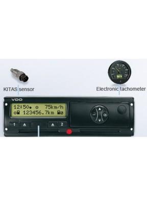 Prędkościomierz E-TACHO 1323  wersja DTCO
